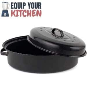 Russell Hobbs Self Basting Roasting Tin With Lid