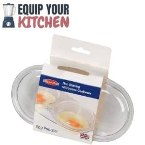 Easy Cook NS606 2 Cup Microwave Egg Poacher
